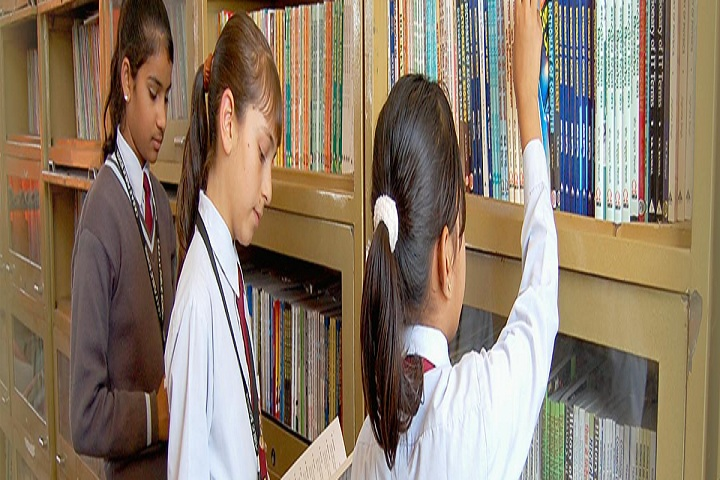 CRDAV Public Senior Secondary School-library