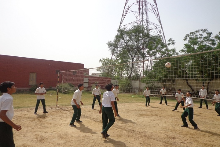 C R Public School-Volley Ball Court