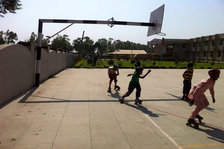 C S International School-Basket Ball Court