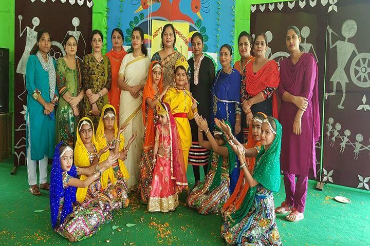 C S International School-Janamashtami Celebrations