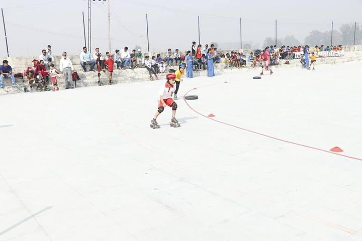 C S International School-Skating