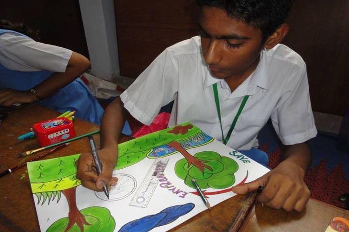 Campus School-Drawing
