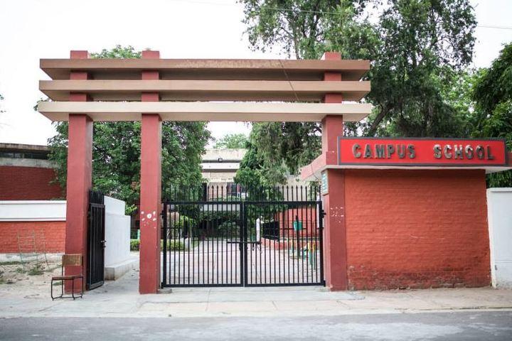 Campus School-School Entrance