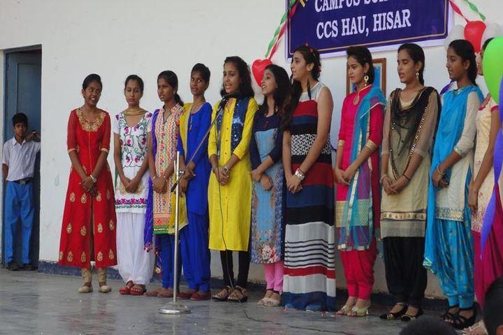 Campus School-Singing