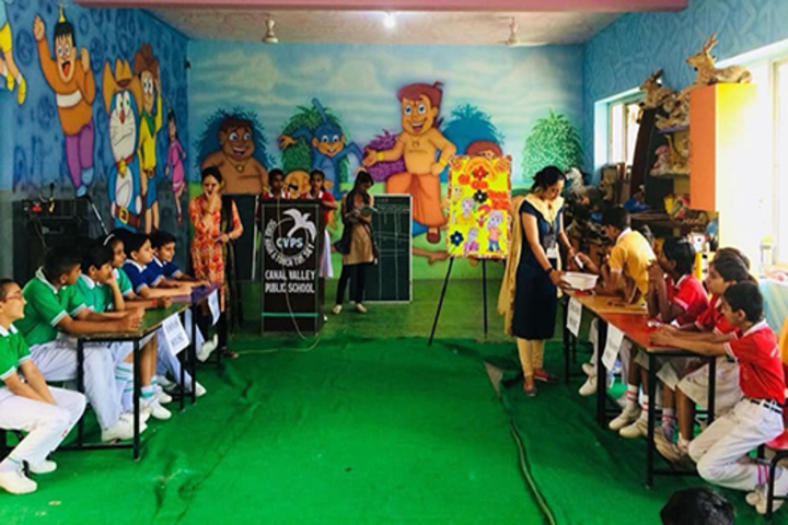 Canal Valley Public School-Quiz Competition