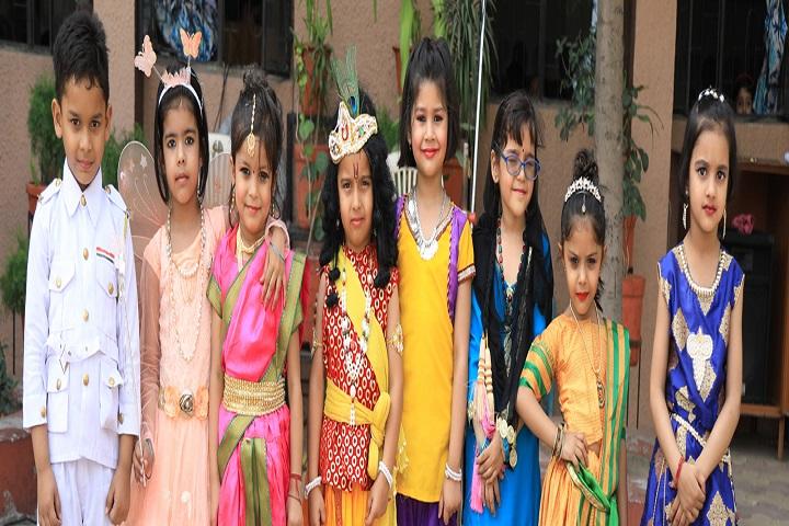 Carmel Convent School-Fancy Dress Competition