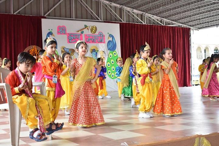 Cecil Convent School-Janmastami
