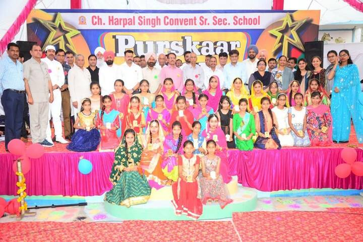 Ch Harpal Singh Convent School-Prize Ceremony