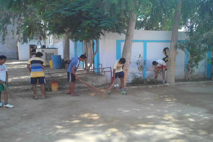 Ch Harpal Singh Convent School-Swachh Bharat mission