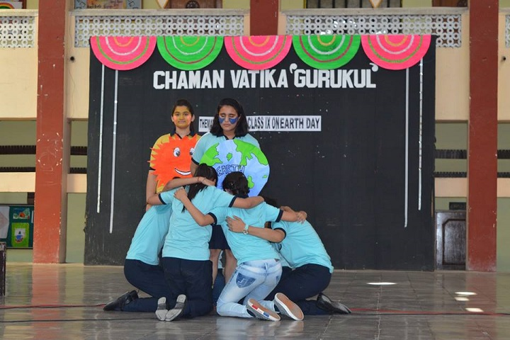 Chaman Vatika Residential Public School-Earth-Day