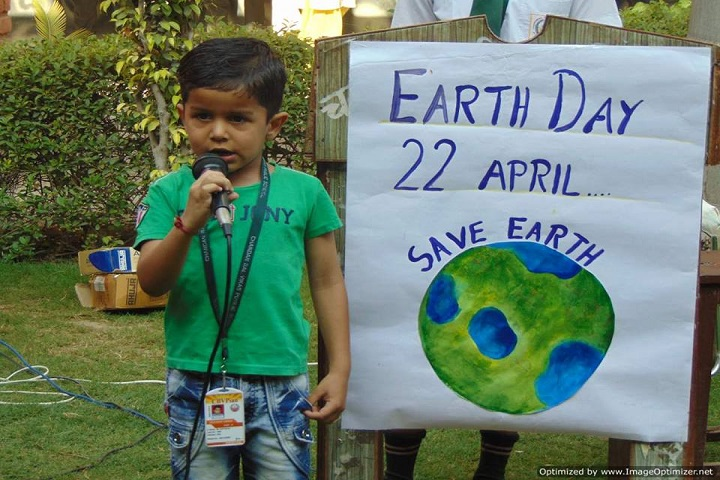 Chandan Bal Vikas Public School-Earth Day