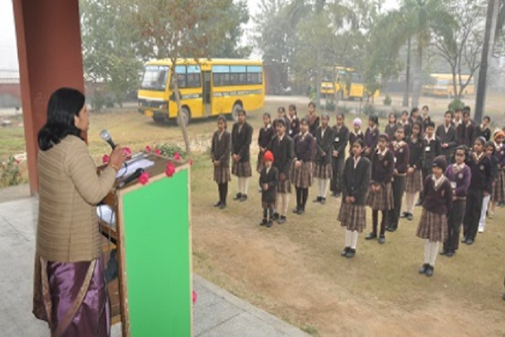 Chottu Ram Memorial Public School-Morning Assembly