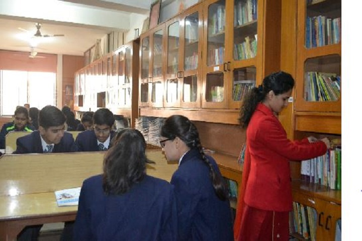 Colonels Central Academy-Library