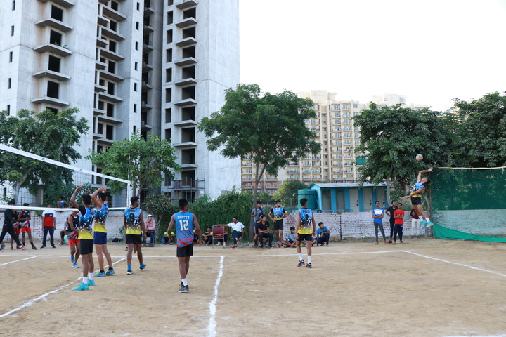 Colonels Public School-Volley Ball Court