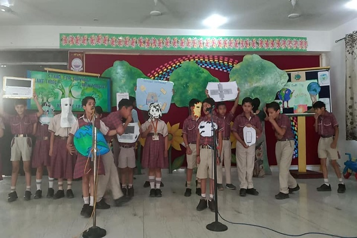 D A V Centenary Public School-Earth-Day