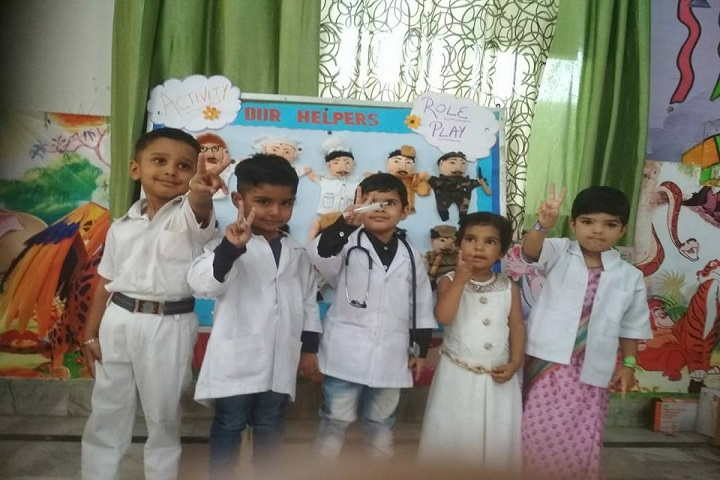 D A V Centenary Public School-Role-Play