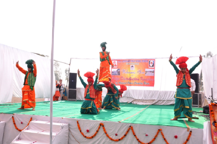 D A V Centenary Public School-Dance1