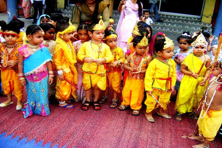 D A V Centenary Public School-Janmastami