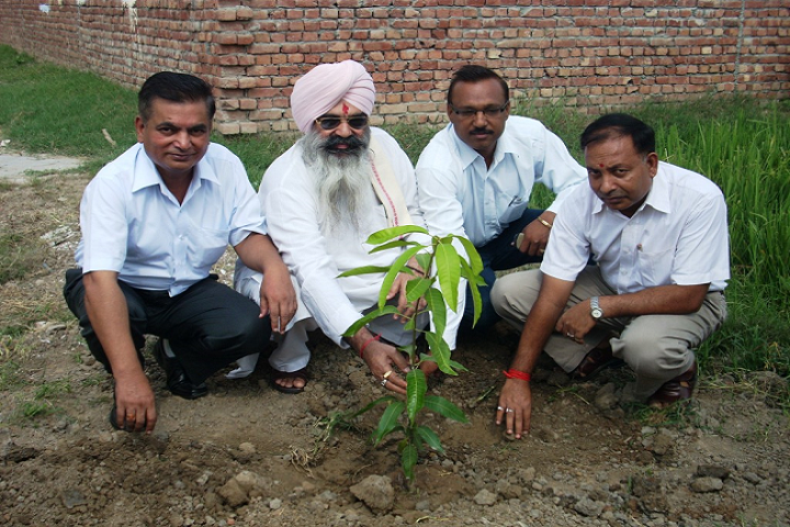 D A V Centenary Public School-Plantation