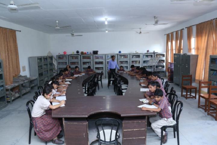 D A V Centenary Public School-Library