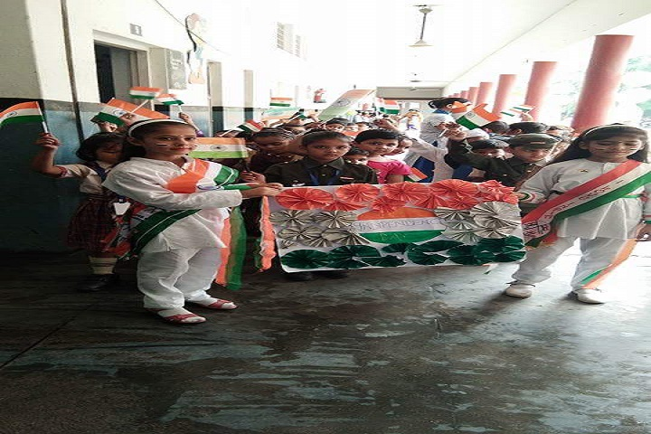 D A V Centenary Public School-Independence-Day