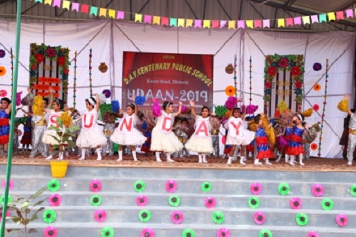 D A V Centenary Public School-Childrens dance programme