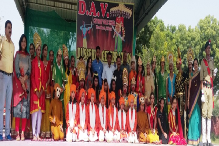 D A V Centenary Public School-Dussera Celebrations
