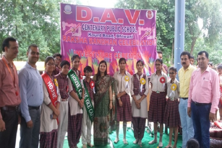 D A V Centenary Public School-Investiture Ceremony