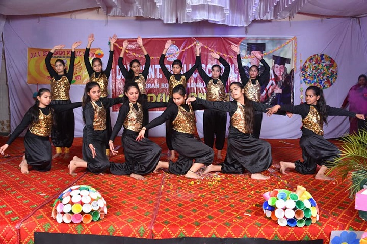 DAV Centenary Public School-Dance
