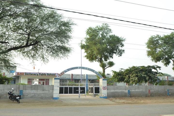 DAV Centenary Public School-School-Front
