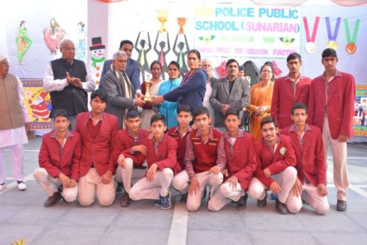 D A V Police Public School-Sports Champions