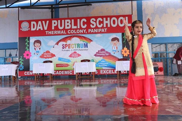 D A V Public School-Dance Activity