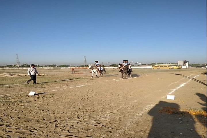 D A V Public School-Horse Riding
