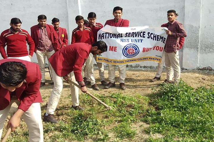 D A V Public School-National Service