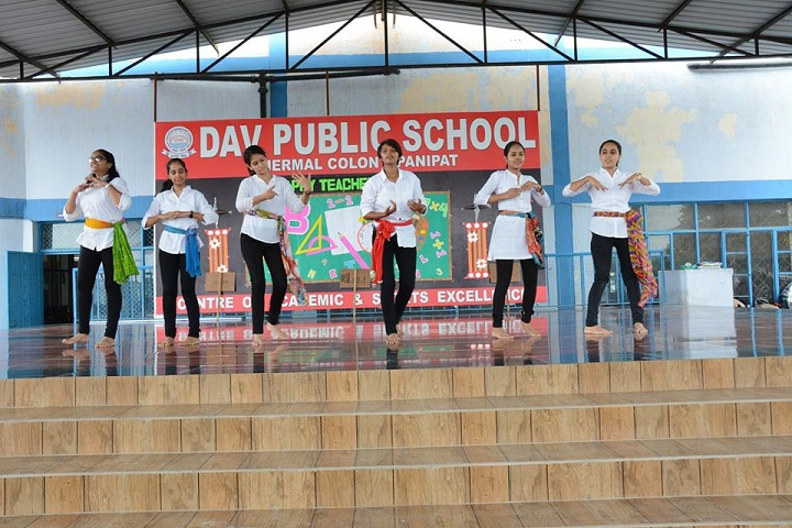 D A V Public School-Teachers Day Celebrations