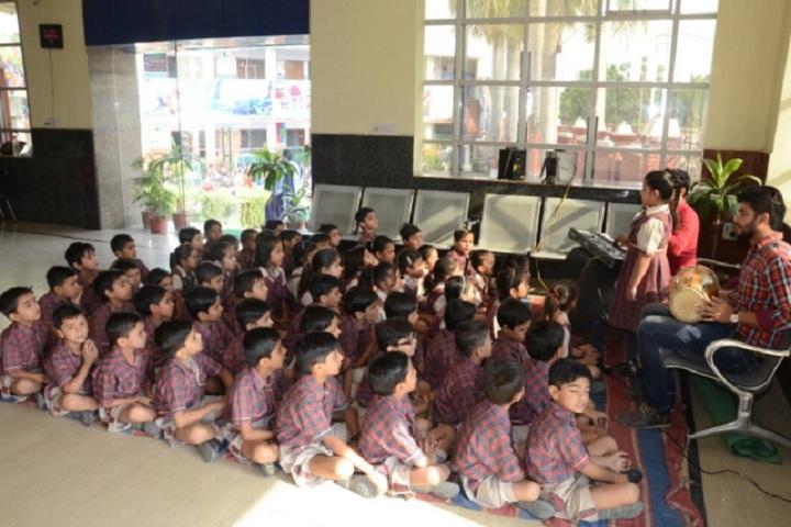 DAV Public School-Music class