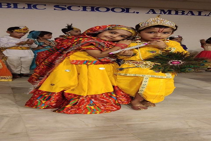 DAV Public School-Krishnastami Celebrations