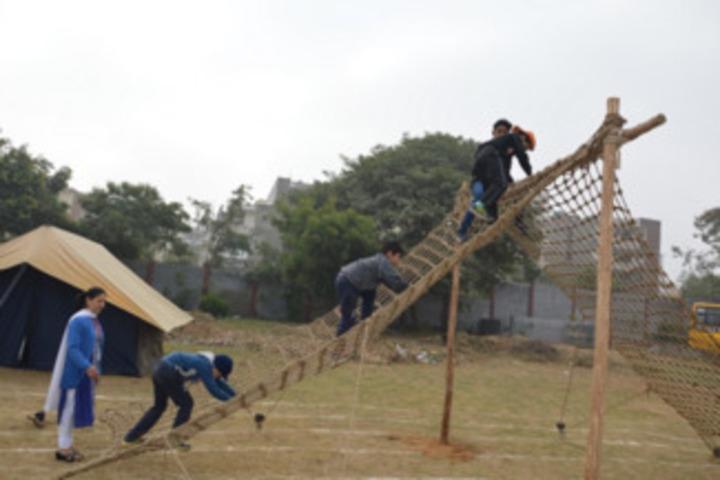 DAV Public School-Adventure Camp