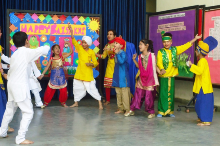 DAV Public School-Baisakhi Celebrations
