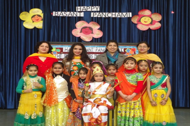 DAV Public School-Basanth Panchami Celebrations
