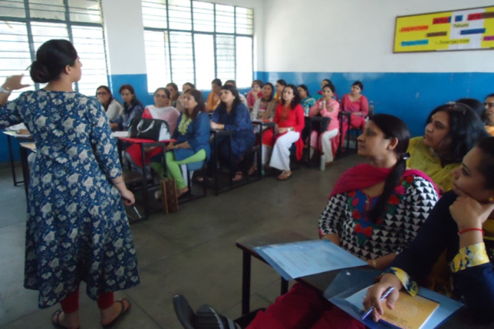 DAV Public School-ICT Workshop