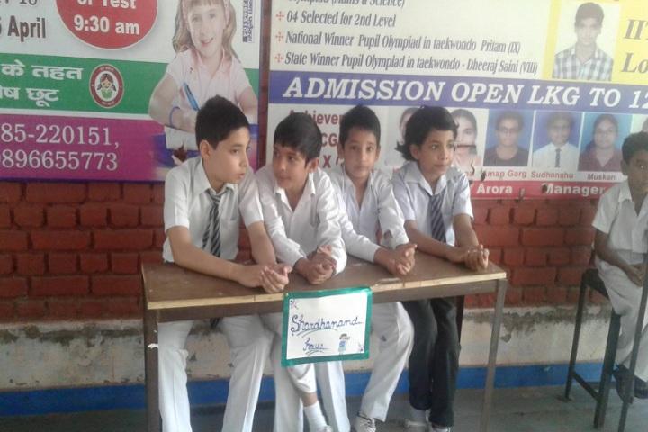 D A V Public School-Debate Competition