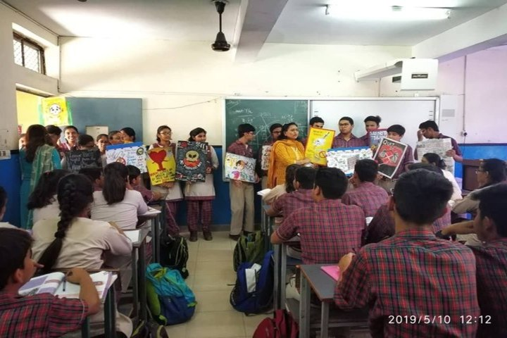 DAV Public School-Anti Tobacco Week