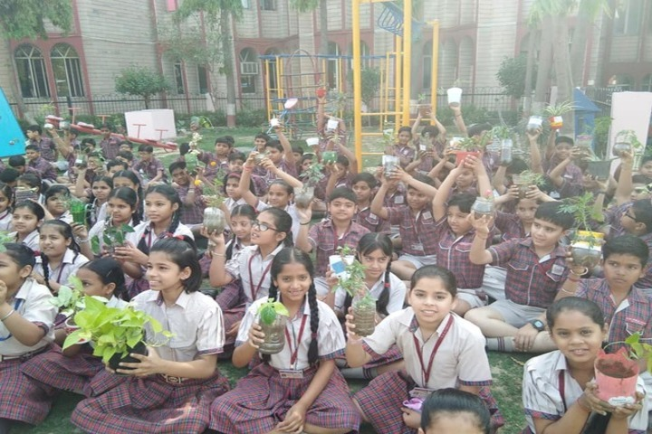 DAV Public School-Plant A Tree Program