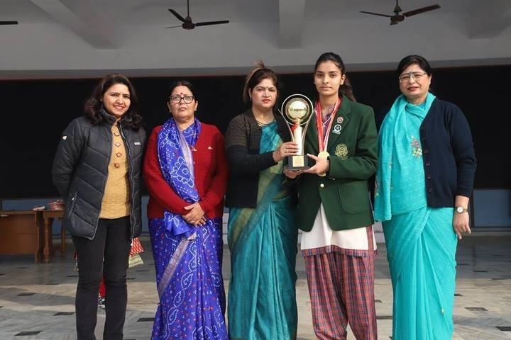 DAV Public School-Shooting Champion Trophy