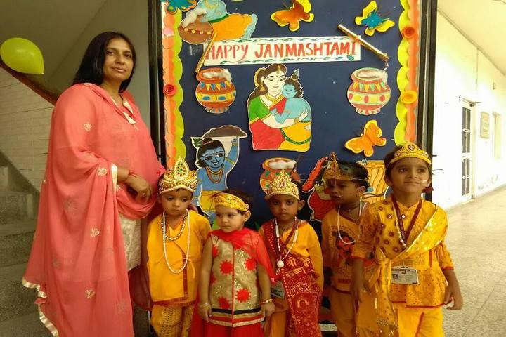 D C Model Senior Secondary School-Krishnastami Celebrations