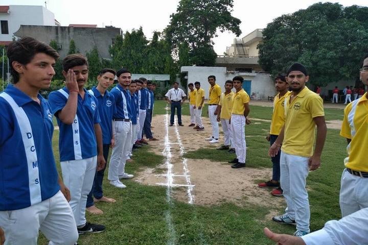 D C Model Senior Secondary School-Sports Meet