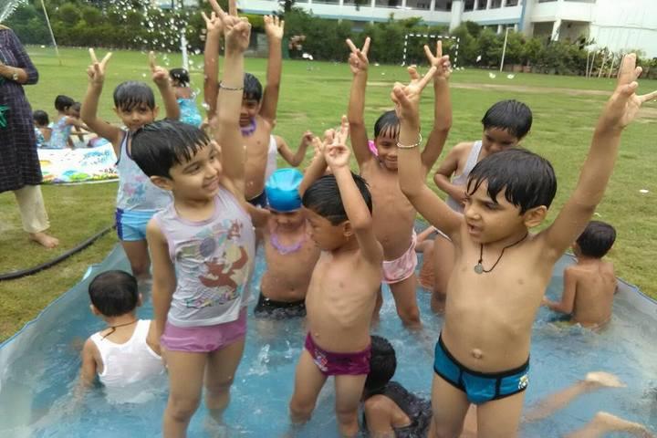 D C Model Senior Secondary School-Swimmimg Pool Activity