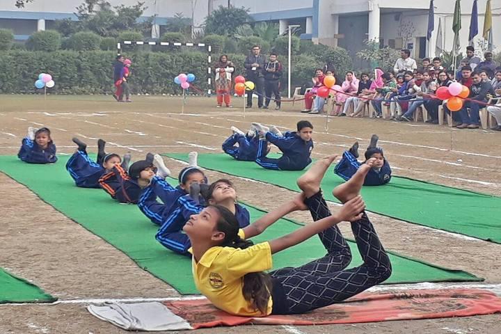 D C Model Senior Secondary School-Yoga