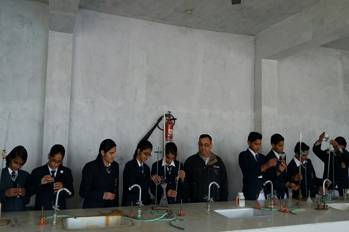 D H Lawrence Senior Secondary School- Chemistry Lab